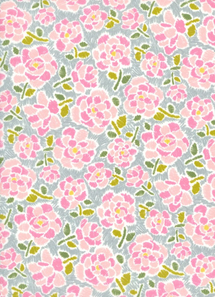 Charleston Posy B - AW21 The New Collectables Collection - Liberty Fabrics Tana Lawn