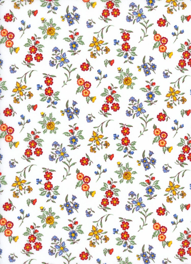 Edith Rose A - AW21 The New Collectables Collection - Liberty Fabrics Tana Lawn