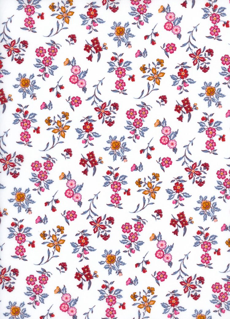 Edith Rose C - AW21 The New Collectables Collection - Liberty Fabrics Tana Lawn