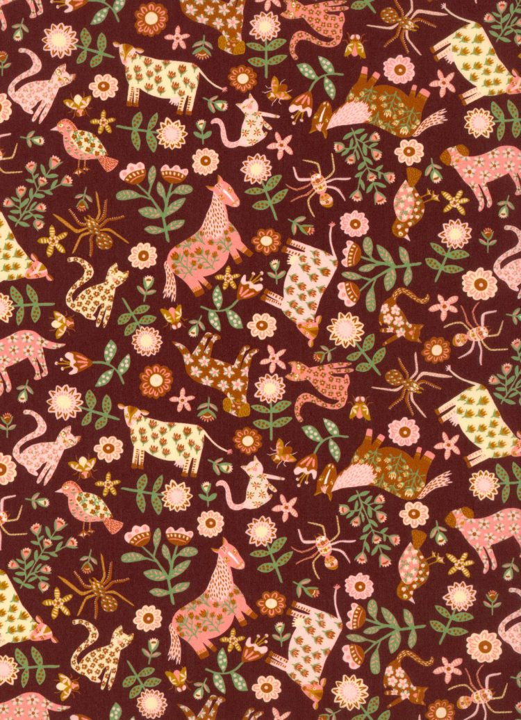 Folk Tails B - AW21 The New Collectables Collection - Liberty Fabrics Tana Lawn