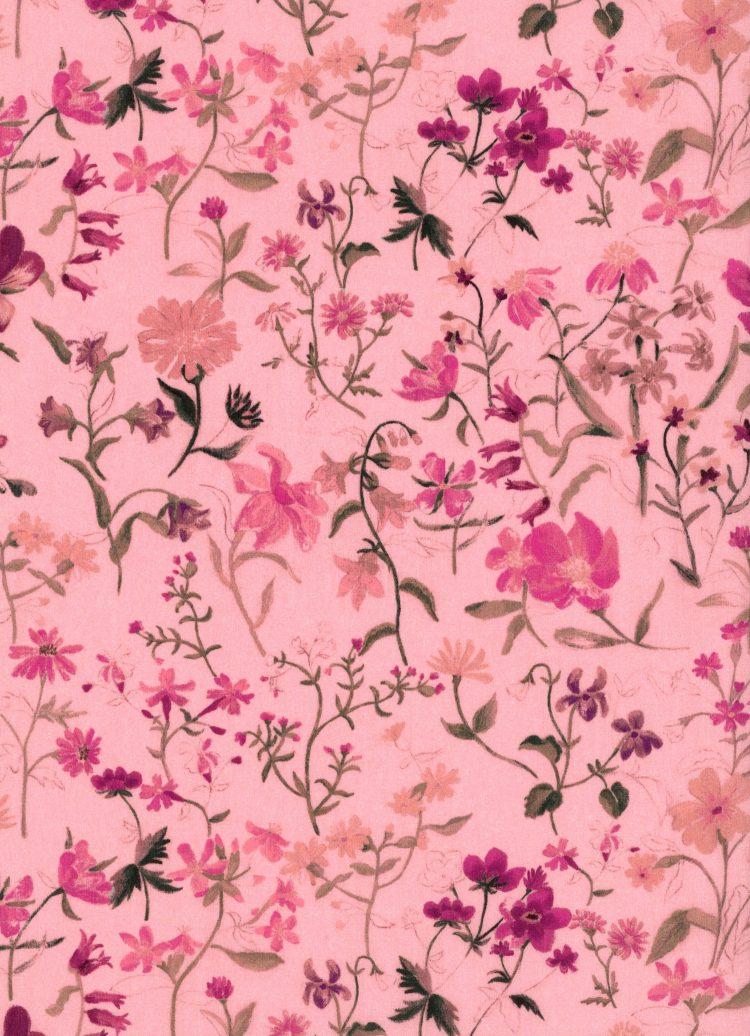 Linen Garden B - AW21 The New Collectables Collection - Liberty Fabrics Tana Lawn