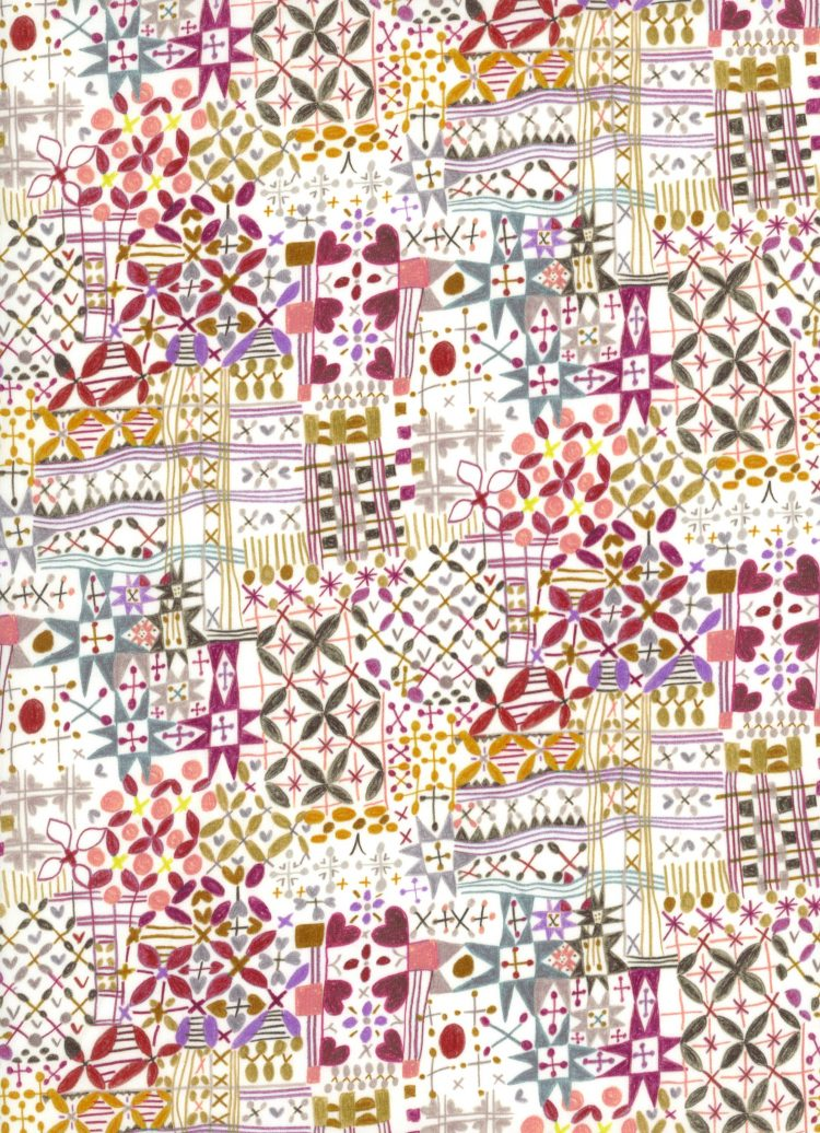 Monika A - AW21 The New Collectables Collection - Liberty Fabrics Tana Lawn