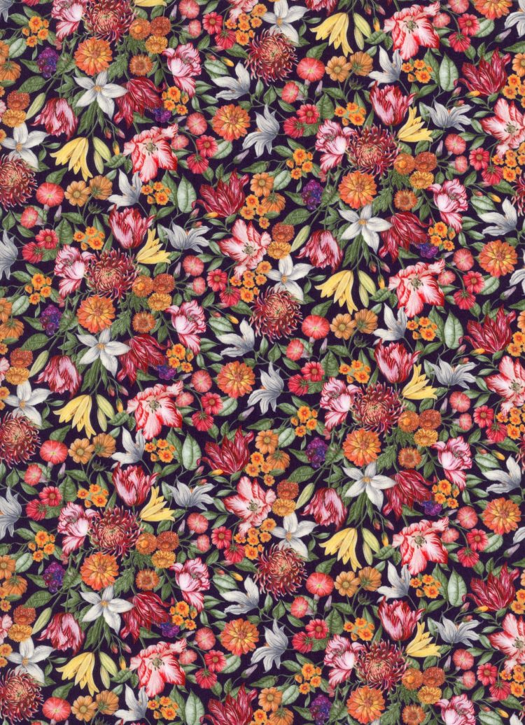 Royal Garland B - AW21 The New Collectables Collection - Liberty Fabrics Tana Lawn