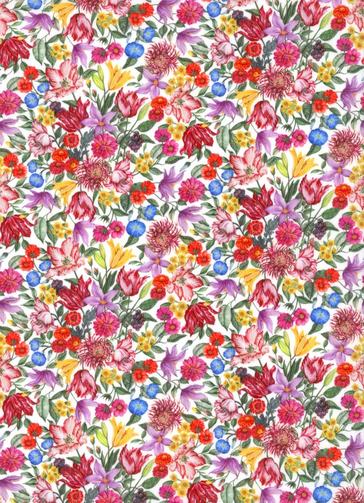 Royal Garland C - AW21 The New Collectables Collection - Liberty Fabrics Tana Lawn