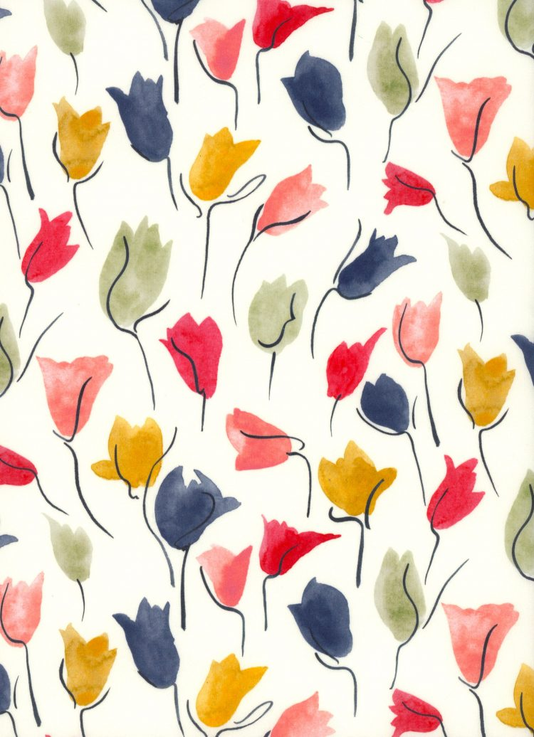 Tulip Shadow A - AW21 The New Collectables Collection - Liberty Fabrics Tana Lawn