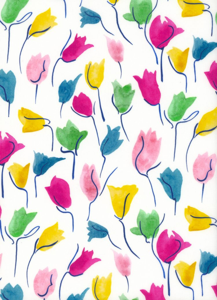 Tulip Shadow C - AW21 The New Collectables Collection - Liberty Fabrics Tana Lawn
