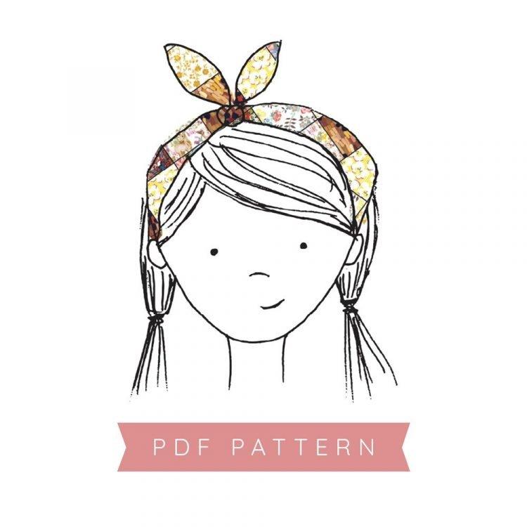 Boho Hair Wrap Pattern
