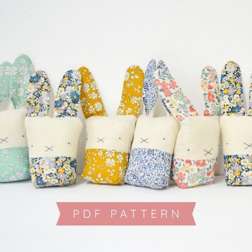 PDF – Liberty + Linen Bunny Pattern