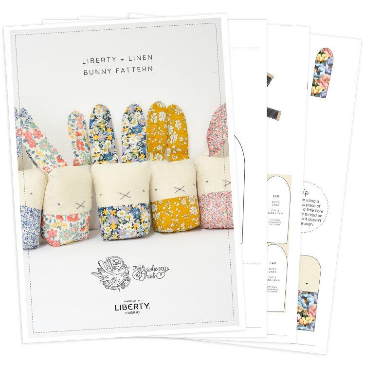 Liberty + Linen Bunny Pattern