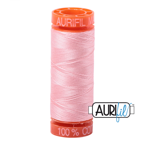 Aurifil Thread 50wt – 2415 Blush Pink