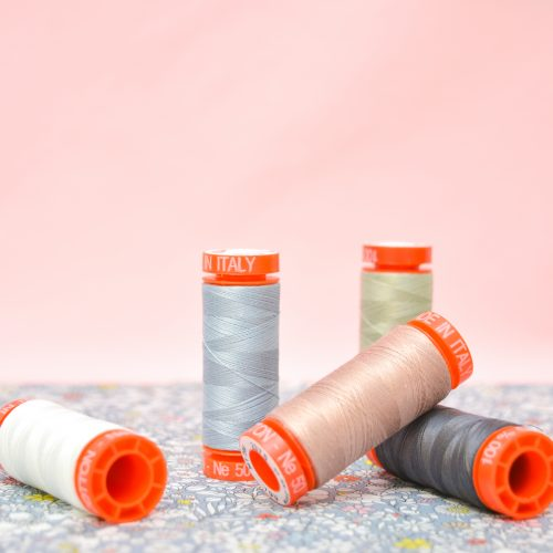 Aurifil Thread Bundle – 50wt Neutrals