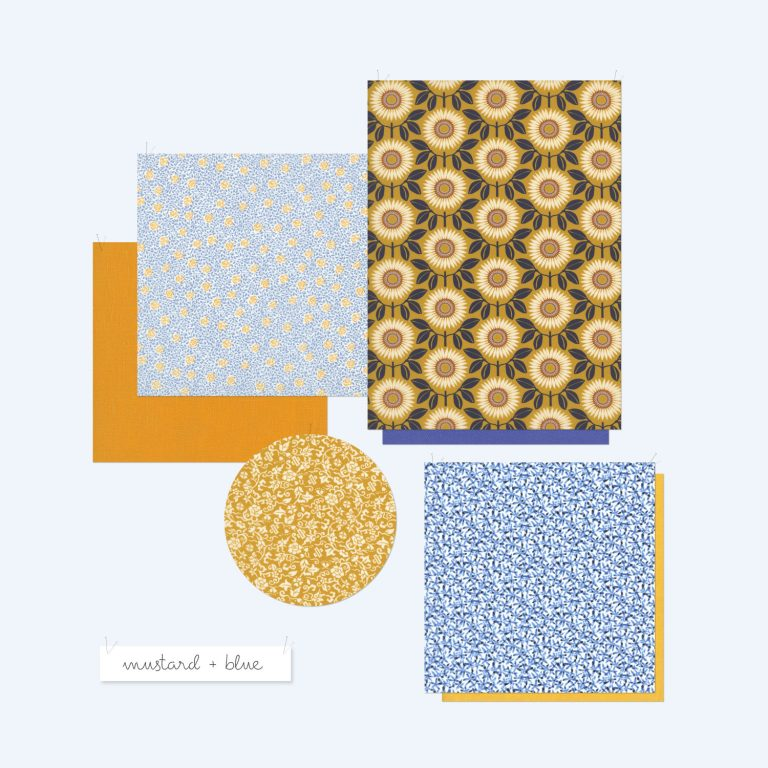 Last of Liberty – Mustard and Blue