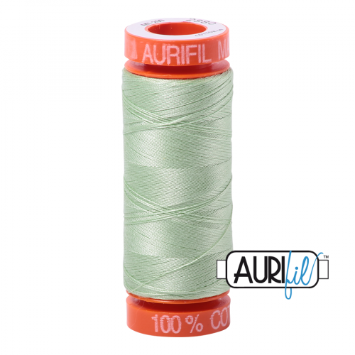 Aurifil Thread 50wt – 2880 Pale Green