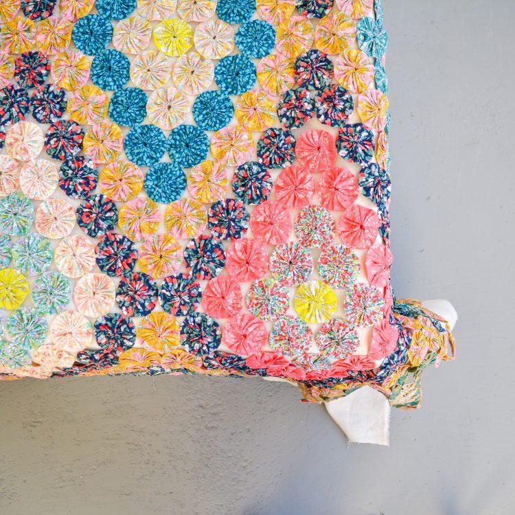Yoyo Coverlet Pattern
