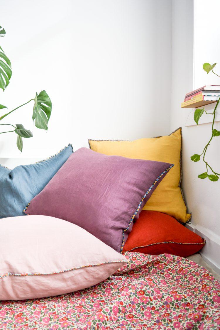 Linen + Liberty Floor Cushion Kit