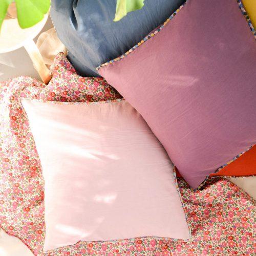 Linen + Liberty Floor Cushion Cover Pattern