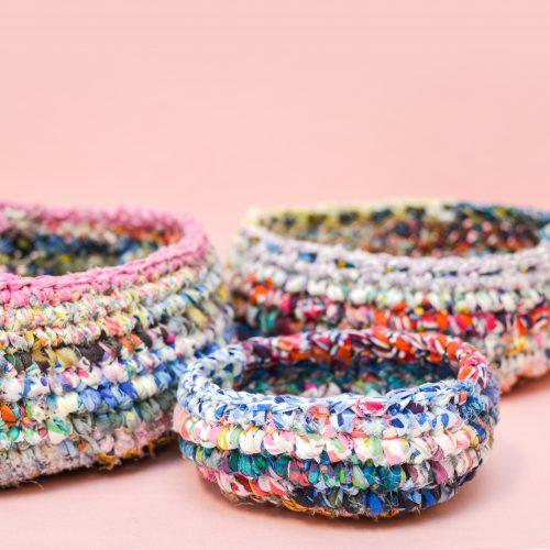 Liberty Crochet Bowls Pattern