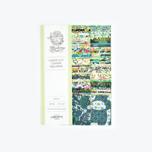 2.5 inch Charm Squares – Green