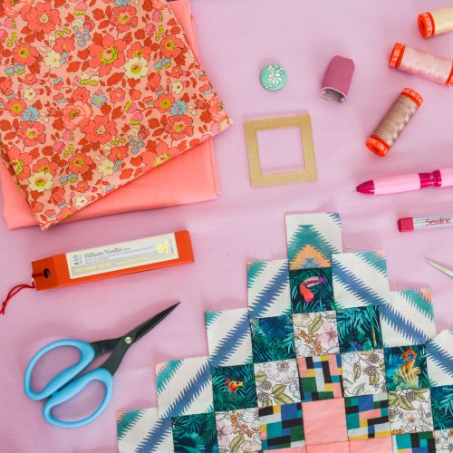 Liberty Love Around the World SAL – Hand Piecing Starter Kit