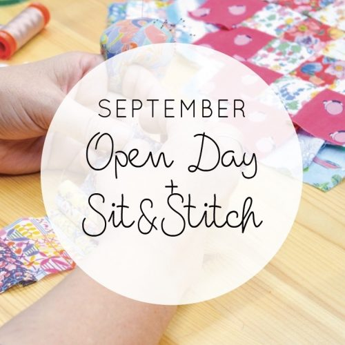 Coming up: September Open Day
