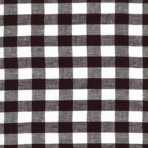 Linen – Black Gingham