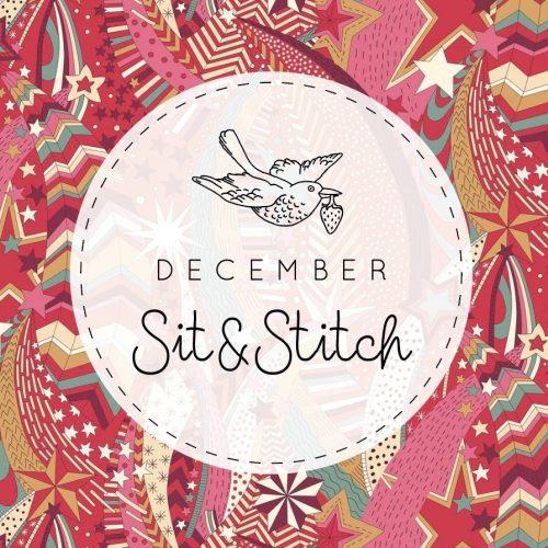 Sit & Stitch Ticket – 11th December