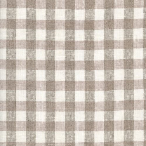 Linen – Natural Gingham