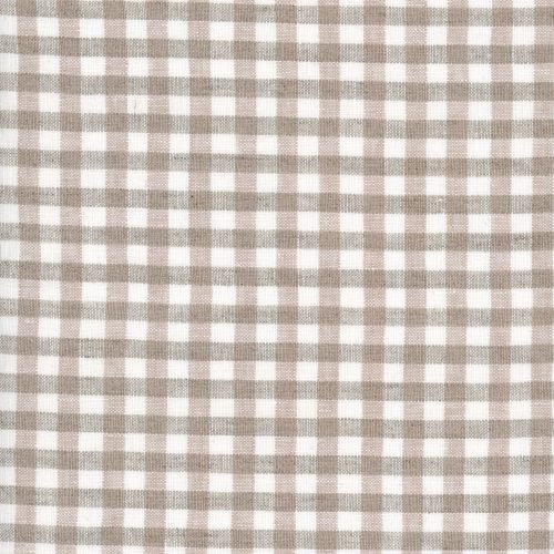 Linen – Natural Gingham – Small