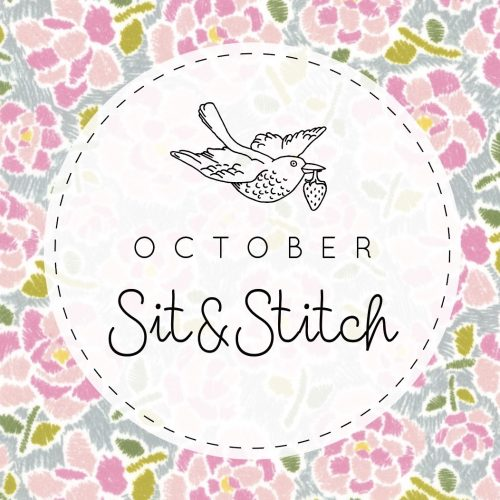 Sit & Stitch Ticket – 23rd October