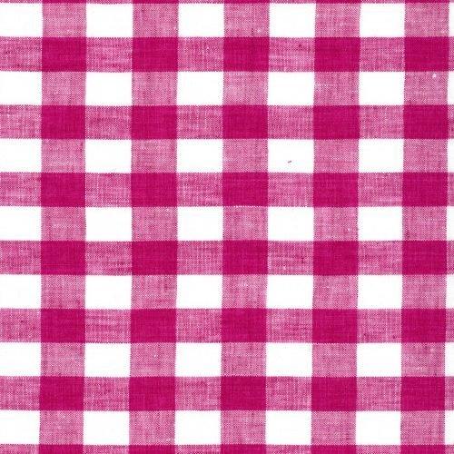 Linen – Raspberry Gingham