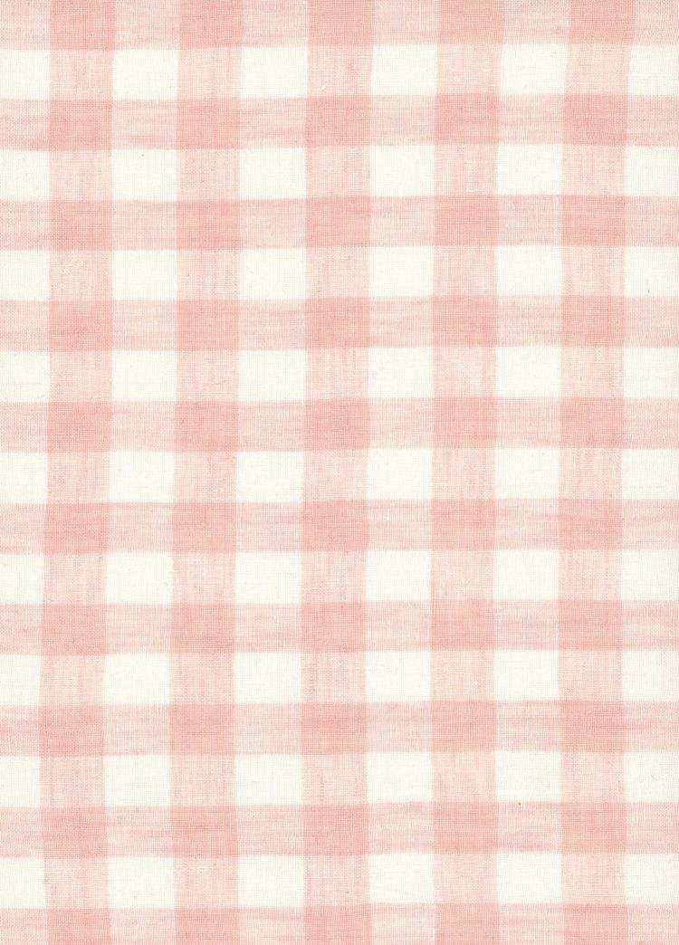 Gingham Linen - Sherbet