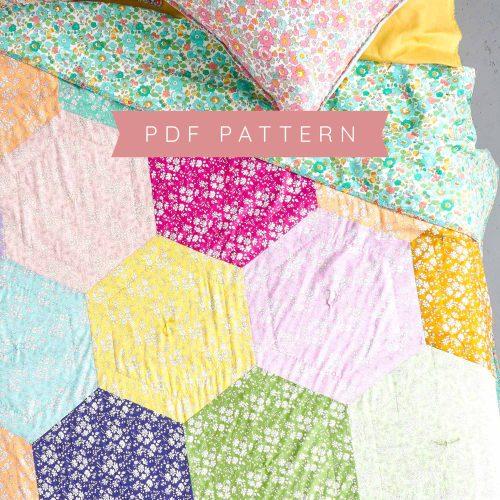 Capel Confetti Quilt Pattern – PDF