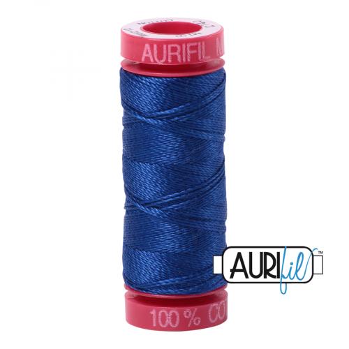 Aurifil Thread 12wt – 2740 Dark Cobalt