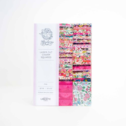 2.5 inch Charm Squares – Pink