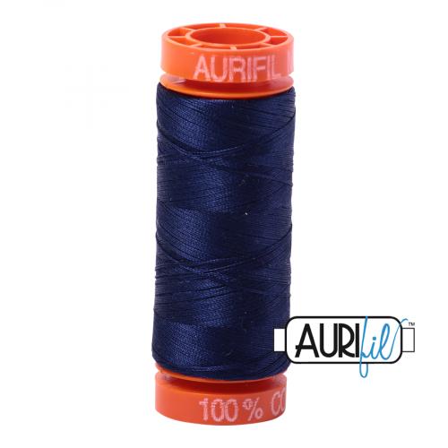 Aurifil Thread 50wt – 2745 Midnight